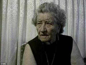 Florence Thompson dans un reportage de Bob Dotson, pour la NBC, 1979.