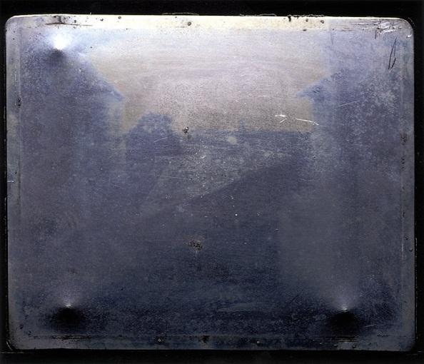 La Vue du Gras, 1826, Joseph Nicéphore Niepce