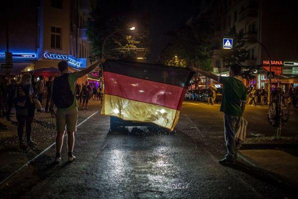 Friedrichshain, Berlin, 13 juillet 2014 © Elliot Lepers