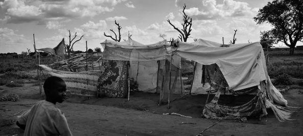 Camp de Sido sur la frontière Tchad-République Centrafricaine. Tchad, juin 2014. Photo : Guillaume Lavit d'Hautefort